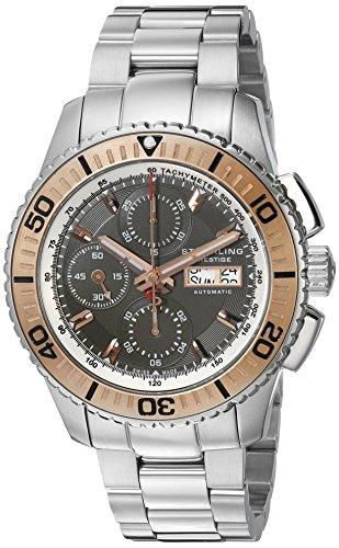 Stuhrling Original Men's 'Prestige' Automatic Stainless Steel Dress Watch (Model: 319.33S169) (Prestige Bezel Bracelet)