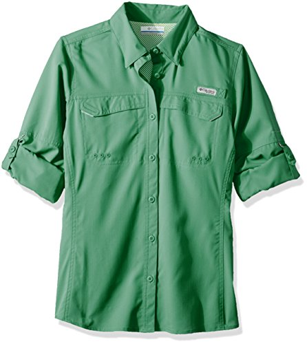 Camicia Maniche Green Columbia Donna Lo Da Winter Lunghe Drag A TnUZ4Ip
