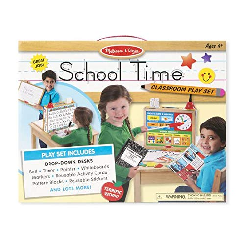 Melissa & Doug School Time Play Set +Free Scratch Art Mini-Pad Bundle (8514) - http://coolthings.us