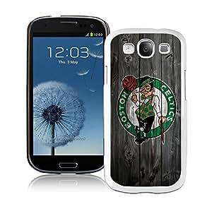 New Custom Design Cover Case For Samsung Galaxy S3 I9300 boston celtics 1 White Phone Case wangjiang maoyi