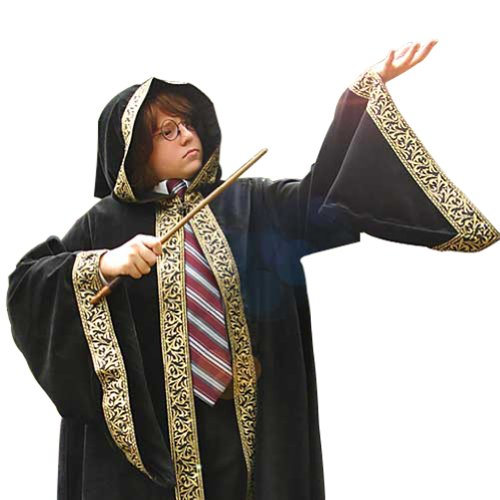 Museum Replicas Wizards Cloak for Children - Magician Halloween Costume Boys & -
