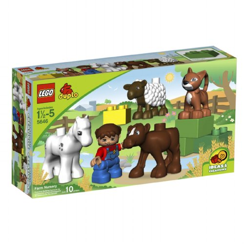 with LEGO DUPLO LEGOVILLE design