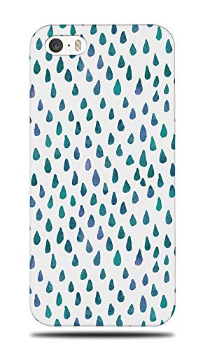 WATERCOLOR RAINDROP PATTERN 59 Hard Phone Case Cover for Apple iPhone 5 / 5S / SE