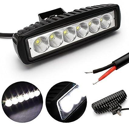 18 W EP LED Lampara coche Foco reflector Proyector de Trabajo Luz ...