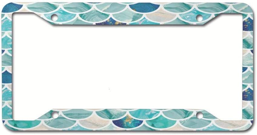 12 x 6in muit phygthoug License Plate Frame Custom Frame protruding Your Personalized Label