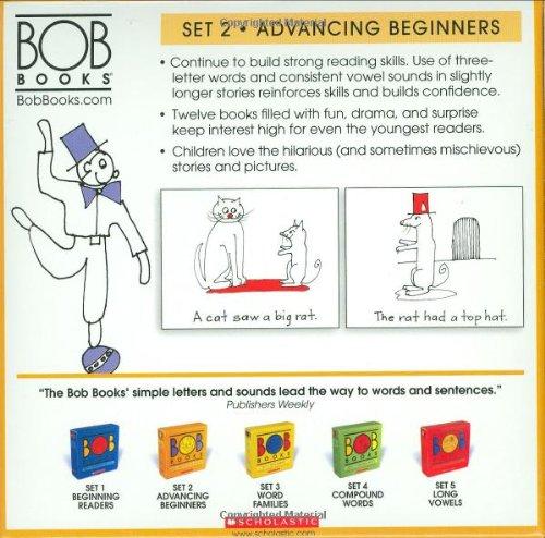 Amazon.com: Bob Books Set 2-Advancing Beginners (9780439845021 ...