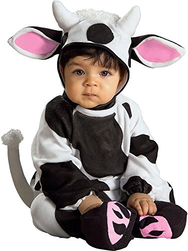 Rubie'szy Cow, Black/White, 6-12 -