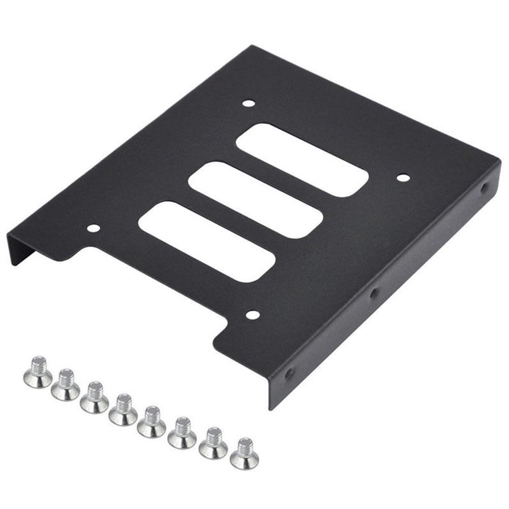 Nicemeet Laptop Hard Drive Bracket, Solid State Hard Drive Metal Bracket 2.5'' SSD to 3.5'' Contains Screws