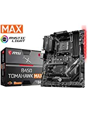 MSI Arsenal Gaming AMD Ryzen 2ND and 3rd Gen AM4 M.2 USB 3 DDR4 DVI HDMI Crossfire ATX Motherboard (B450 Tomahawk Max)