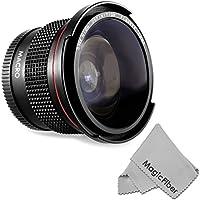 52MM 0.35X Altura Photo Professional Super Fisheye Wide Angle Lens w/ Macro Close Up for Nikon D5300 D5200 D5100 D3300 D3200 D3100 D3000 DSLR Cameras Basic Intro Review Image