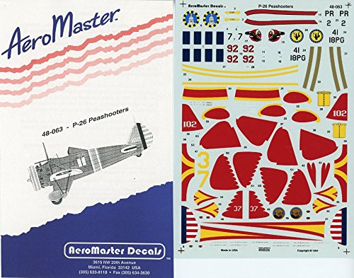 Aero Master Decals 1:48 P-26 Peashooters Decal #48-063 for sale  Delivered anywhere in USA