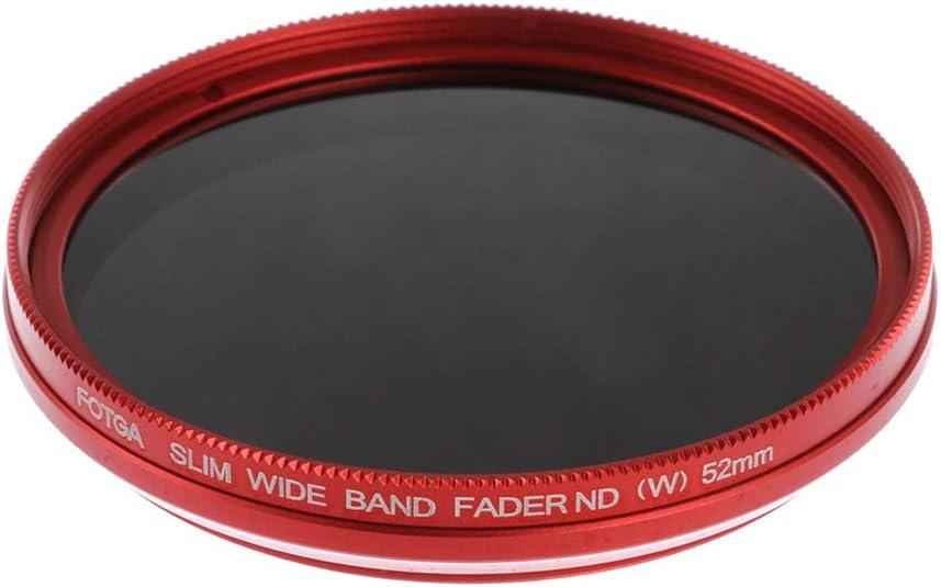 Homyl ND2 to ND400 Slim Fader Variable Adjustable ND Neutral Density Filter 52mm