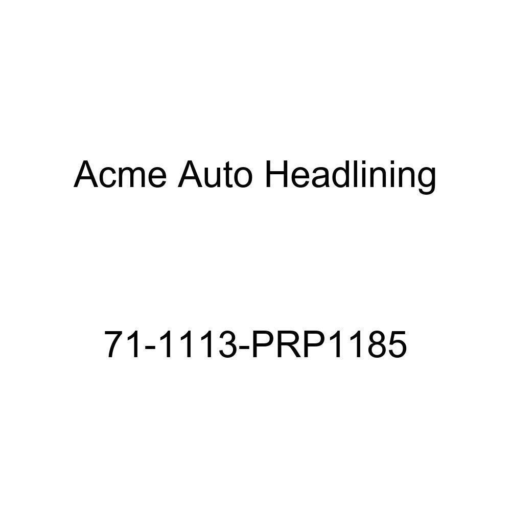 Acme Auto Headlining 71-1113-PRP1185 Brown Replacement Headliner 5 Bow 1971 Buick Riviera 2 Door Hardtop
