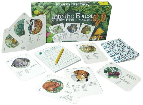Food Chain Chart - Ampersand Press Into the Forest, Nature's Food Chain Game