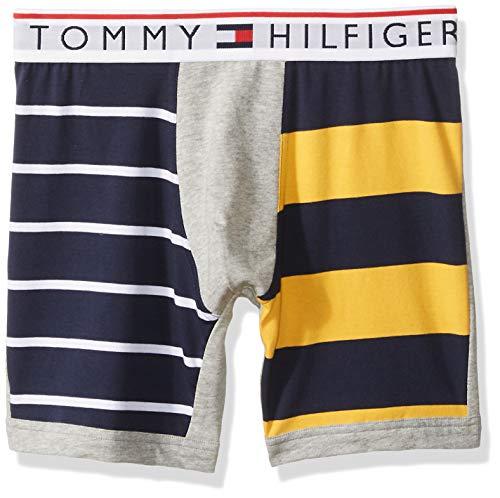 - Tommy Hilfiger Men's Underwear Modern Essentials Boxer Briefs, Blue Bird, Large