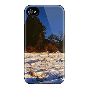 Fashionable Style Cases Covers Skin For Iphone 6- Lake Michigan Lighthouse In Winter