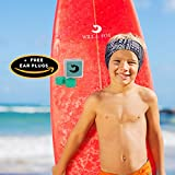 SWIMMING HEADBAND ADULTS -12 YEARS - UNISEX + FREE EARPLUGS (Putty) -LARGE RANGE OF DESIGNS/PRINTS - PREVENT EAR INFECTIONS - ENT Physician's RECOMMEND (WILL and FOX's) SWIM EARBAND + 1 Yr WARRANTY