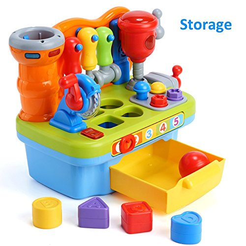 Woby Multifunctional Musical Learning Tool Workbench Toy ...