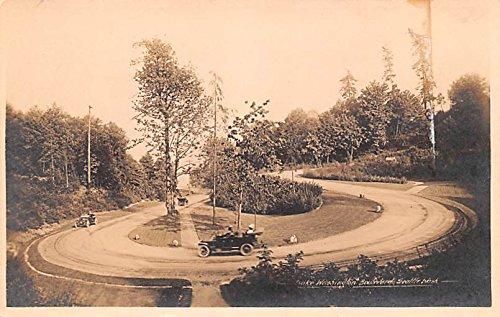 (Lake Washington Boulevard Seattle, Washington postcard)