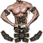 ROOTOK-Elettrostimolatore-per-Addominali-Elettrostimolatore-Muscolare-Addominale-Tonificante-Cintura-Ricarica-USB-EMS-Stimolatore-Muscolare-AddomeBraccioGambeWaistGlutei