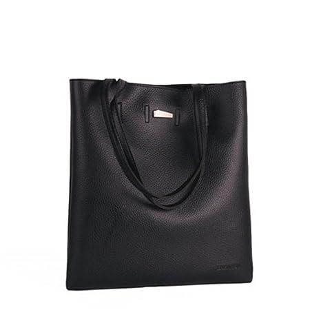 La mujer de cuero pu bolsas bandoleras bolsos bolsos de ...