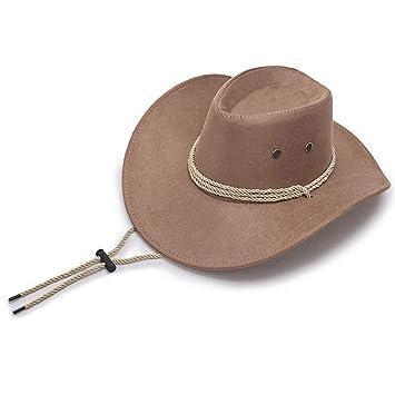 Azly-Caps Sombreros de Vaquero de Terciopelo, Gorras Ajustables de ...