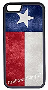 iPhone 6 Case, CellPowerCasesTM Texas Flag [Protect Series] -iPhone 6 (4.7) Black Case [iPhone 6 (4.7) Protective V1 Black] by ruishername