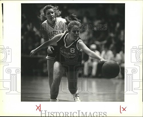 fan products of 1991 Press Photo Karen Behr, Australian Basketball Player for Newcastle at Game