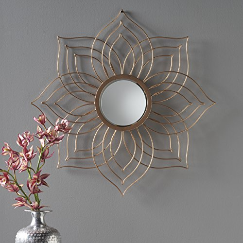 Christopher Knight Home 302088 Oakley Wall Mirror, Copper