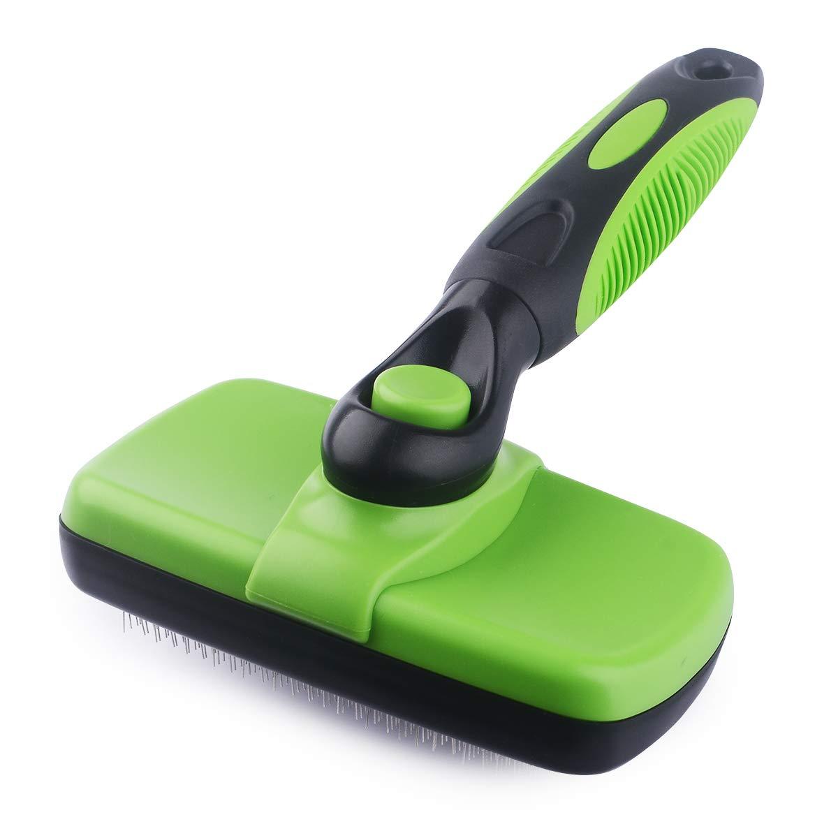 WLWQ Dog Brush & Cat Brush- Slicker Pet Grooming Brush