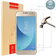 [2-Pack] Samsung Galaxy J2 Pro 2018 Screen Protector, PULEN 0.3MM Slim And 9H Hardness Tempered Glass [Anti-Scratch] [Bubble Free] Extreme Hardness with Lifetime Replacement Warranty