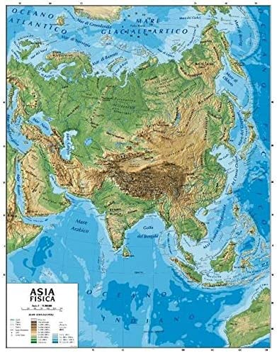 Cartina Muta Politica Dell Asia.Cerchio Concentrazione Vento Cartina Geografica Europa Asia Amazon Monzacorre It