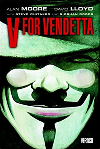 Image result for v for vendetta book