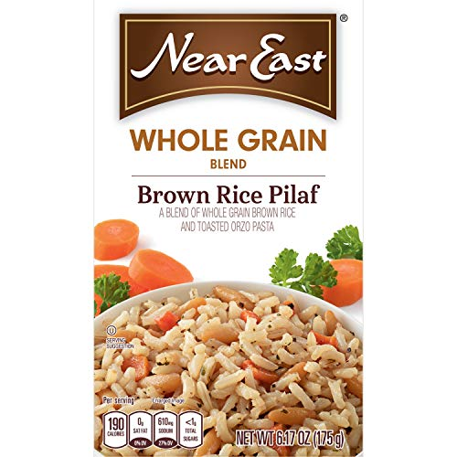 Near East Whole Grain Blends, Brown Rice Pilaf, 6.17oz (Pack of 12)