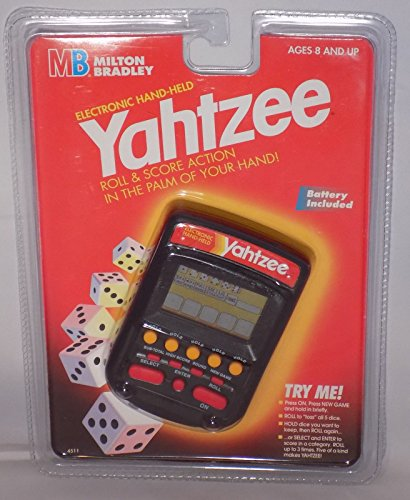 Yahtzee Handheld Electronic Game (1995) by Yahtzee