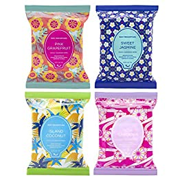Body Prescriptions Makeup Remover Wipes Bulk, 4 Pack, 120 Facial Cleansing Cloths Removes Makeup, Mascara, Dirt and Oil…