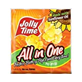 Jolly Time All-in-One Popcorn Machine Kits with Sunflower Oil, Kernels & Salt for 6 oz. Kettles (Pack of 36) by Jolly Time