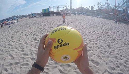 Senda Playa Beach Soccer Ball, Size – 5 (Ages 13 -Adult)