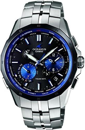 [カシオ] 腕時計 オシアナス MANTA マンタ 世界6局電波対応ソーラーウォッチ スマートアクセス・タフムーブメント搭載 3年保証 OCW-S2400E-1AJF シルバー