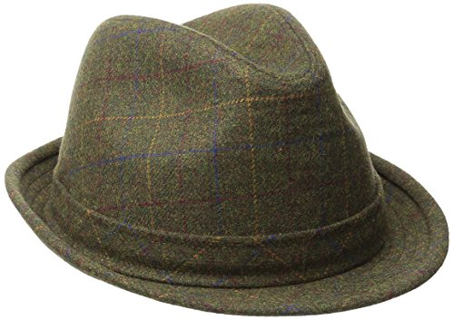 Stetson Men's Wool Blend Fedora, Brown, X-Large (Fedora Hat Pacific Dorfman)
