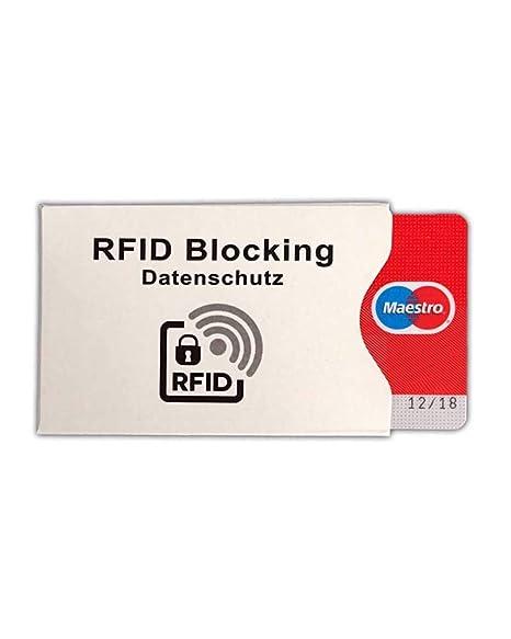 62a8b25f5c Custodia protettiva anti clonazione per carte di credito contactless rfid  card protector set 3 pezzi -