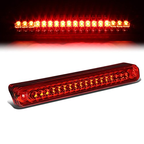 For Chevy/GMC C/K-Series GMT400 High Mount LED 3rd Brake/Cargo Light (Red Lens)