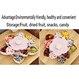 Overstep Creative Flower Type Rotating Candy Box