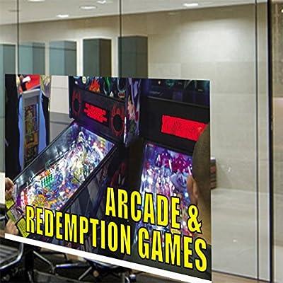Exterior Accessories 19.5inx48in, Firecrackers Indoor Store Sign Vinyl Decal Sticker