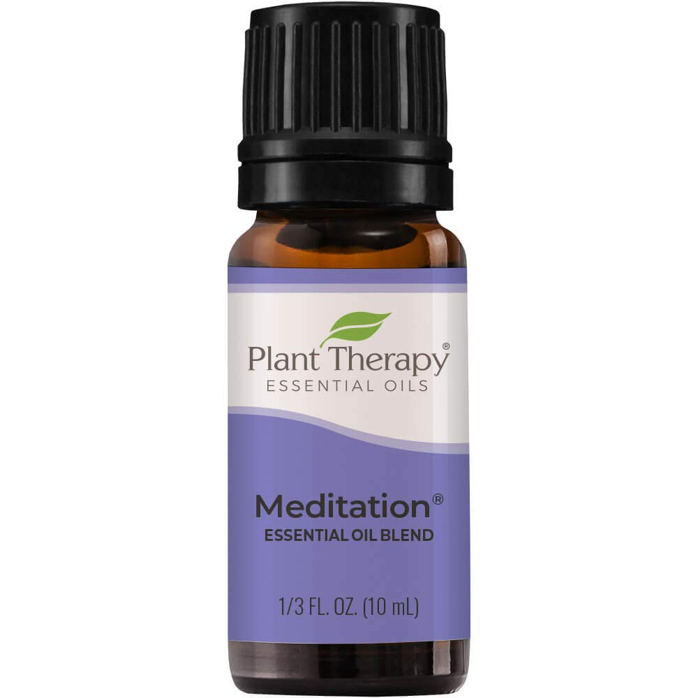 Plant Therapy Meditation Essential Oil Blend 10 mL (1/3 oz) 100% Pure, Undiluted, Therapeutic Grade