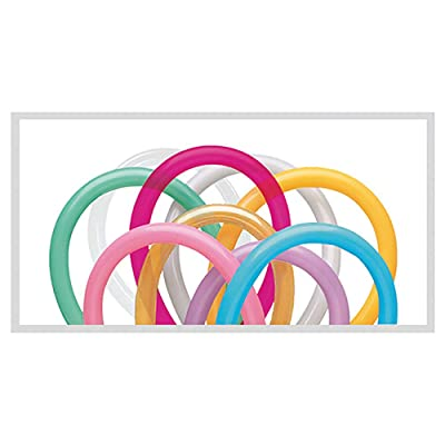 Qualatex 260Q Twisting Balloons, Entertainer Assortment - Pack of 100: Kitchen & Dining