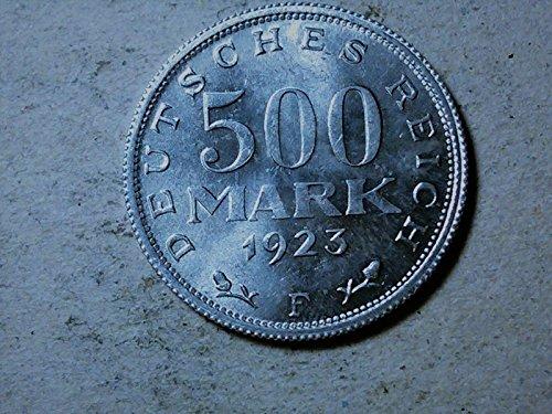 Germany 500 mark 1923 F