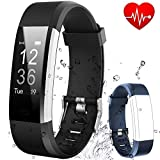 Fitness Tracker HR Flenco Activity Tracker Heart Rate Monitor Smart Bracelet Health Sport