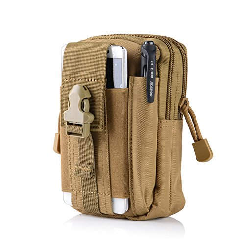 Money coming shop Mens D30 Waterproof Military Belt Waist Bags 1000D Nylon Mobile Phone Wallet Travel Pouch Bolsa
