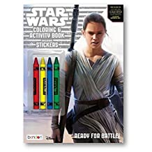 Star Wars The Force Awakens Coloring and Activity Book with 4 Crayons, 12 Crayola Colored Pencils, and 2 in 1 Pencil Sharpener